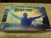 NINTENDO GUITAR HERO LIVE WII U **LIKE NEW WITH GAME, TWO GUITARS AND ORIGINAL B